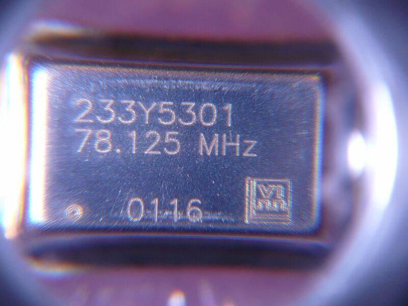 Crystal Clock Oscillator 78.125MHz CMOS Output Full Size *NEW* 5/PKG