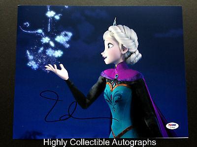 Idina Menzel Signed 11X14 Photo Autograph Psa Dna Coa Frozen