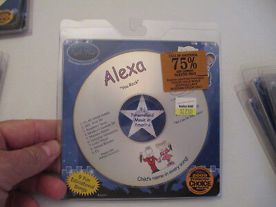 Kid Hip   Personalized Cd With Your Childs Name   9 Songs   Alexa