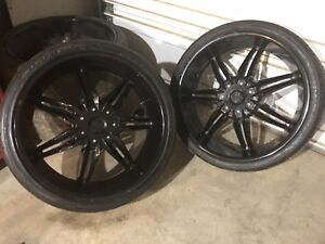 "295/30/zr26 26"" STARR wheels. Rims/tires"
