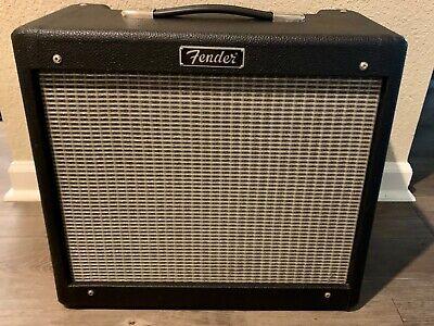 "Fender Blues Jr. Junior MIM 1x12"" 15-watt Tube Combo Amp! Tone Machine!"