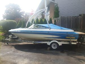 1993 Glastron Bowrider and Trailer