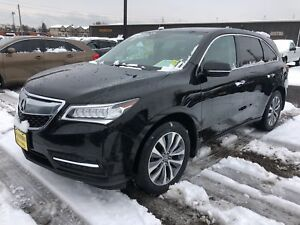 2016 Acura MDX Navigation, 3rd Row Seating, AWD, 83, 000km