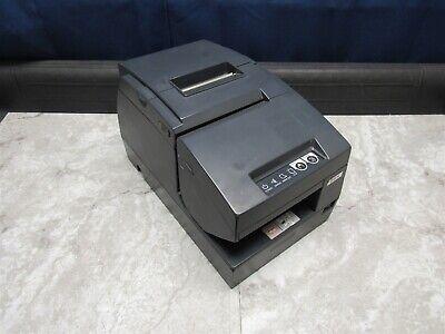 Epson Tm-h6000ii Pos Thermal Receipt Printer M147c W Power Plus Card - Gray