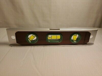 Level Torpedo 9 Wood Face Pocket Horizontal Vertical And 45 Degree New