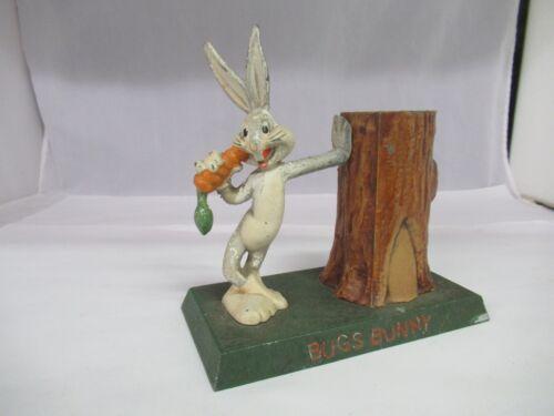 Vintage Cast Iron Bugs Bunny Coin Bank, 263-E