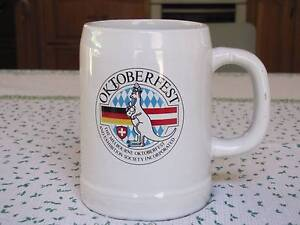 A collectors Octoberfest beer stein Yorkeys Knob Cairns City Preview