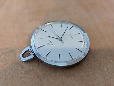 "Vintage OMEGA Pocket Watch "" DE VILLE "" 17 jewels Swiss Made very nice condition"