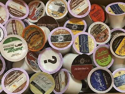 K Cups Coffee 80 Variety Pods Tea Hot Cocoa and More Pods K-Cup READ DESCRIPTION