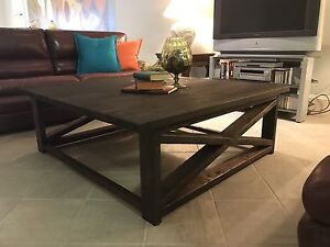 Large Country Rustic Coffee Table