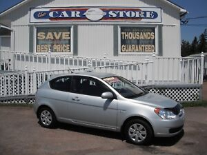 2010 Hyundai Accent GL 5 SPEED GAS SAVER!! NEWLY INSPECTED!! MP3