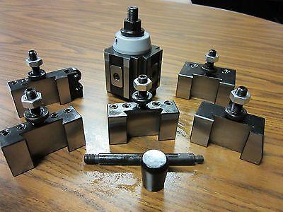 6-12 Quick Change Tool Post-6pcsset-piston Type 830a-532--new