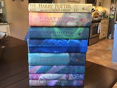 Hardcover Harry Potter Book Lot  1 2  3 4 5 6 & 7  Most American First Editions