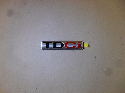 TDCi 1364010 1 Stück ORIGINAL Ford Emblem Schriftzug Heckklappe Plakette
