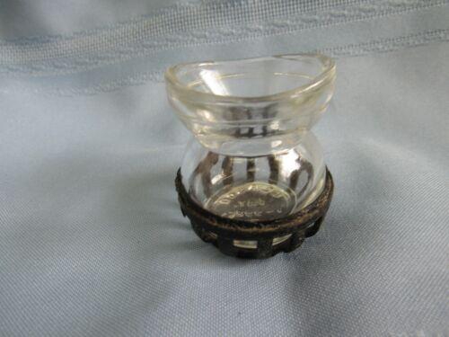 Vintage Glasco Eye Wash Cup Glass / Holder Medical Optical Pat. D-99865