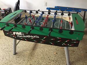 FAS foosball table coin operated