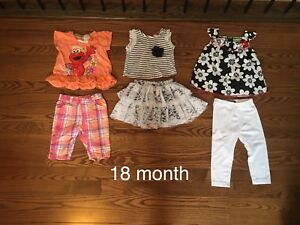 18 month summer girls clothes