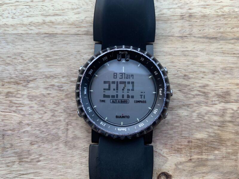 Suunto Core Tactical Watch ABC Altometer Barometer Compass