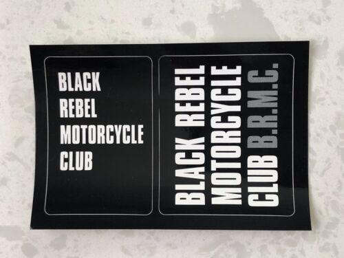 BLACK REBEL MOTORCYCLE CLUB Debut PROMO STICKER BRMC
