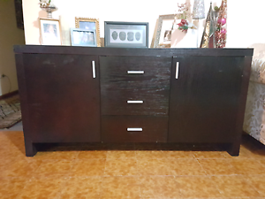 Wood cabinet Canada Bay Canada Bay Area Preview