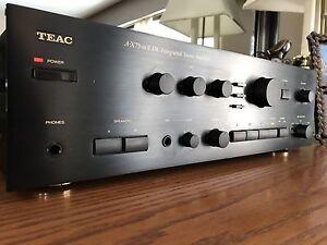 Serviced: 1987 TOTL TEAC A-X75MKii 25.3lbs amplifier mixer