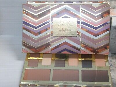 TARTE CLAY PLAY FACE SHAPING PALETTE FULL SIZE BOXED / SEE PICTURE FOR (Shades For Face Shape)