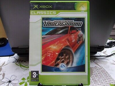 JEU XBOX - NEED FOR SPEED UNDERGROUND