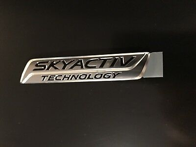 BRAND NEW GENUINE OEM REAR TRUNK DECK LID NAMEPLATE EMBLEM MAZDA 6 #GHK1-51-771