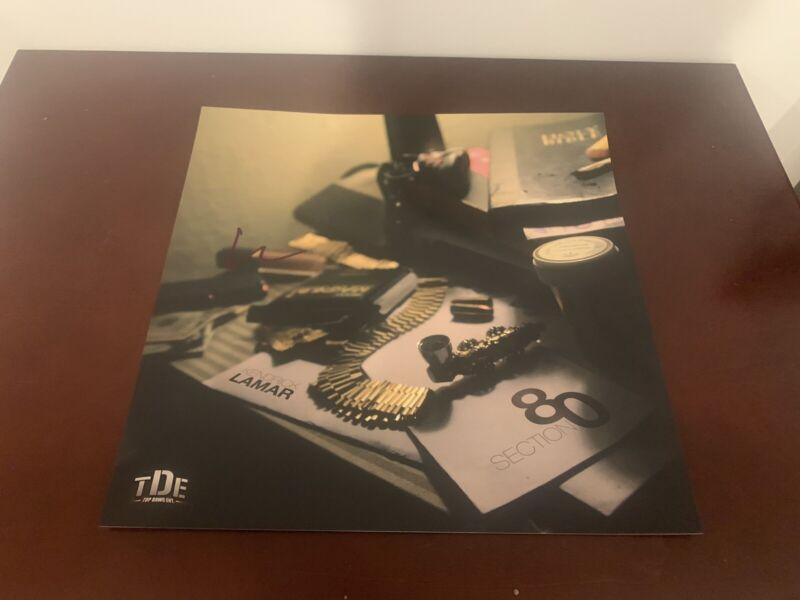 Kendrick Lamar SIGNED 12x12 PHOTO AUTOGRAPH Section 80 Gkmc ADHD