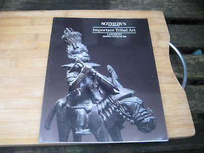 SOTHEBY'S CATALOGUE IMPORTANT TRIBAL ART LON JUN91