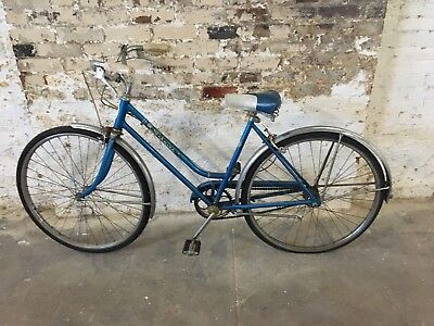 bdfc8675470 Vintage Schwinn Breeze 3 speed Womens Bicycle. 19 inch Step Through Frame  Blue