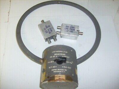 Vintage Empire Devices Lp-105 Loop Antenna 12 From Ham Radio Estate