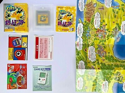 Pokemon Yellow Version for Game Boy Color GB GBC Japan CIB COMPLETE