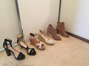 Strappy Heels, Wedges, Ankle Boots, Peep Toe (Sizes 9-10) Scarborough Stirling Area Preview