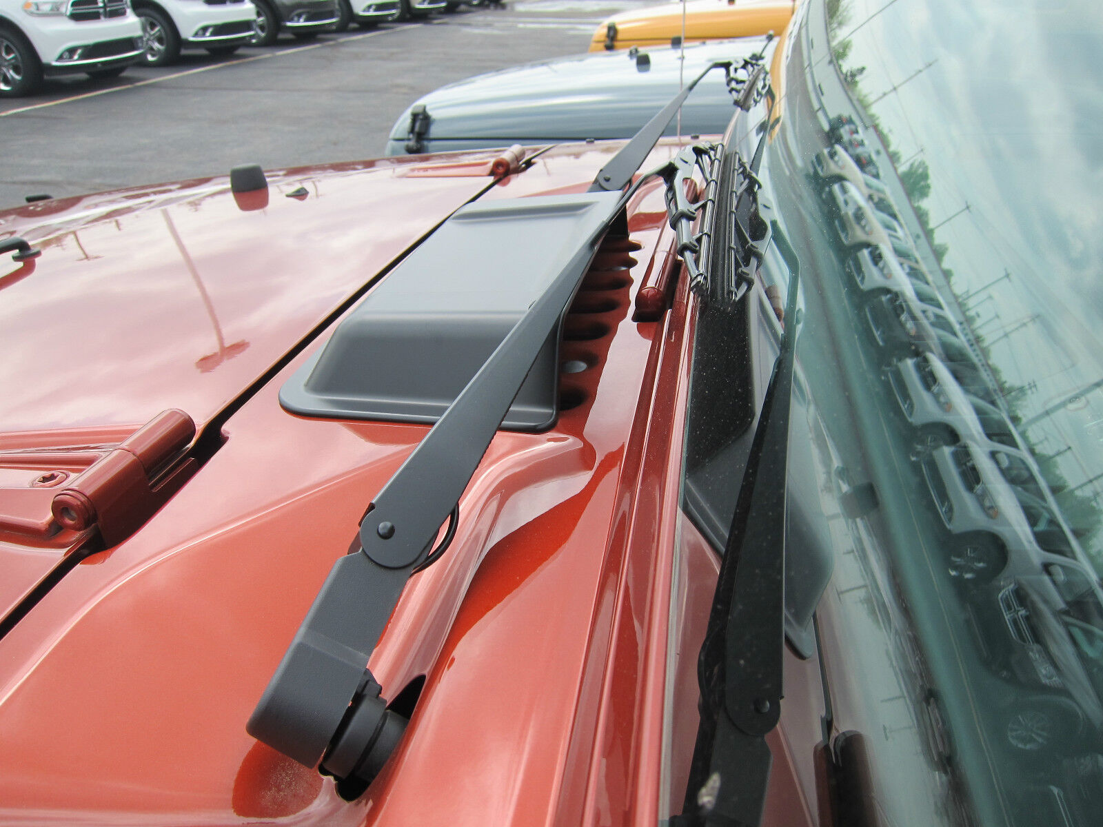 Jeep Renegade Aspen >> 1998-2018 Jeep Wrangler TJ JK Hood Cowl Vent Scoop Mopar OEM | eBay