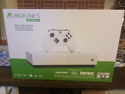 Microsoft Xbox One S All Digital Edition V2 1TB White Console