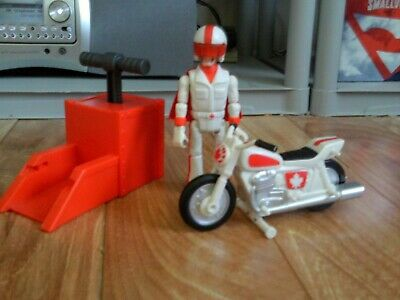Disney Pixar Toy Story 4 Stunt Racer Duke Caboom Action Figure Set