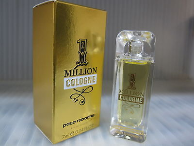 1 MILLION MEN PACO RABANNE 0.24 FL oz / 7 ML Cologne Miniature In Box for sale  Shipping to India