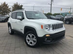 2017 Jeep Renegade LIMITED 4X4**LEATHER NAVIGATION**MY SKY SUNRO