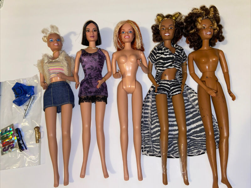 Spice Girls Dolls Lot