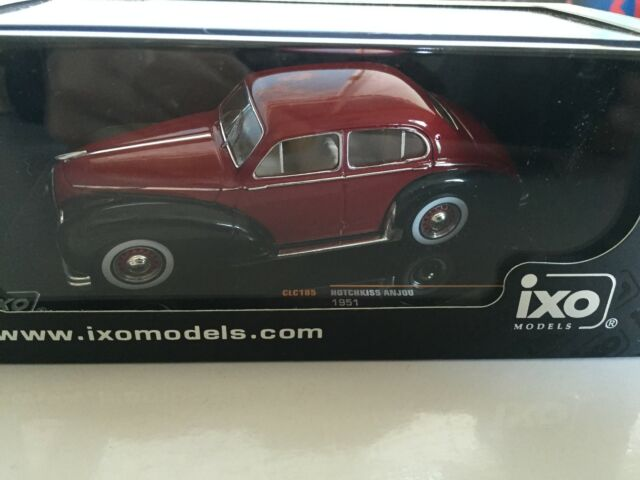 Hotchkiss Anjou 1951 1:43 IXO MODEL CAR DIECAST  CLC185