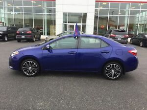 2014 Toyota Corolla S AUTO; AIR; ALLOYS; P/ROOF; HEATED SEATS