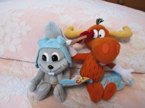 Rocky and Bullwinkle and Friends Stuffins (CVS-2000)  Rocky & Bullwinkle - New