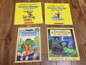 Level 2 Scholastic books and others
