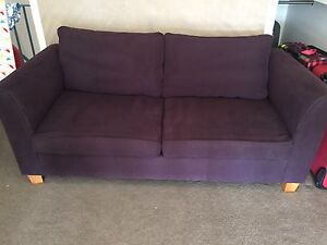Free sofa bed Shelly Beach Wyong Area Preview