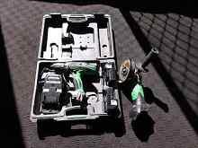 Hitachi 18v drill driver & grinder. 2 x 2Ah  batteries & charger. Tugun Gold Coast South Preview