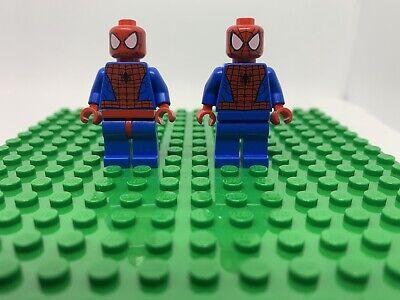 2x LEGO SPIDER-MAN MINIFIG figure minifigure 76115 76114 spiderman marvel