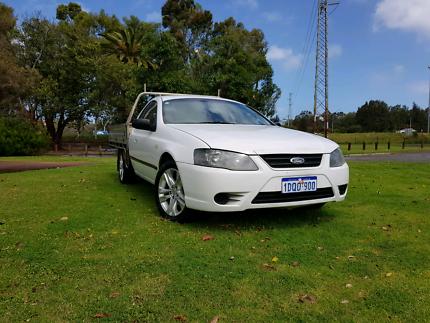 2008 Ford Falcon BF Ute V6 4.0L *LPG GAS* Automatic Aluminium Tra