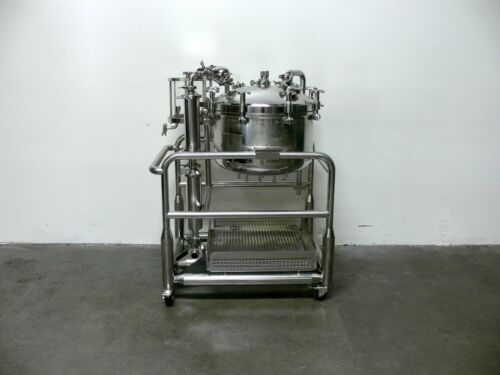 Sommer & Strassburger 125L Pressure Vessel / Reactor on Rolling Cart