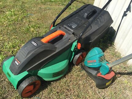 Electric mower & Whipper Snipper! (Bosch) Inala Brisbane South West Preview